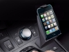 The Lexus Electronic Device Holder allows drivers to set and easily access their smart phones.
