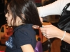 Giada Zingone, 5,  donated her long locks to  Angel Hair for Kids last winter