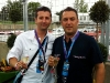 Fernando Zerillo and Lucio Giacomino enjoy the weekend events.