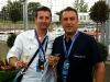 Fernando Zerillo and Lucio Giacomino enjoy the weekend events.