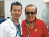 Fernando Zerillo with Remo Ferri, founder of The Remo Ferri Group of Automobiles.
