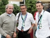 Jacques Lafitte, former French Formula 1 driver and winner of Montreal Grand Prix in 1981; Didier Marsaud, senior manager Corporate Communication Infiniti Canada, Fernando Zerillo, publisher of Dolce Vita Magazine