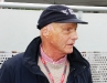 Nikki Lauda, former F1 Champion in 75, 77 and 84. 