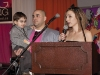 Di Cerbo Family Ambassador 2012 speaks to the crowd