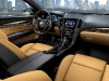 The 2013 Cadillac ATS compact luxury sedan features a driver-focused interior with thoughtfully crafted materials and the intuitively integrated CUE technology, a comprehensive in-vehicle experience that merges intuitive design with auto industry-first controls and commands for information and entertainment data. There are also seven interior color and trim combinations, complementing the dynamic exterior design elements and supporting the ATS' fun-to-drive attitude.