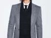For the runway rock stars who dare to go there, this bad-to-the-herringbone blazer with tuxedo-collar sweater layered over a twill shirt is your next big hit.  www.zara.com