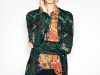 Shake up the classic holiday ensemble by sporting a sequined, embroidered cardigan over an oriental print chiffon blouse. Slip into seamed jeans and go get your jollies. www.zara.com