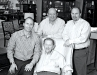 All in the family: Decorium CEO Steve Forberg, left, with grandfather David, dad Joe and brother Howard.