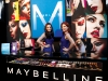 The Maybelline New York hostesses stand at the ready in the Lincoln Center, where guests can take advantage of a makeup consultation booth, phone recharge stations and more.