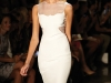 Cushnie et Ochs added a taste of simplistic elegance to the runway with a line of crisp, white pieces.