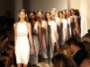 Cushnie et Ochs models bring a breath of fresh air down the runway with a selection of pure white gowns.