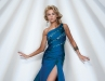 Bowls creates a dress that mixes elegance with attitude. A high slit and bold colour make this gown a show-stopper.