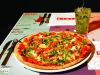 Piola - Moderna Pizza with a Green Fruit Caipiroska