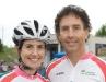 Concetta Torchetti and Gabriele Torchetti of lead sponsor Lady York Foods