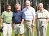 LEFT to RIght: Alan Diner, partner, Baker & McKenzie LLP; Mayor David Ryan, City of Pickering and co-chair  (public sector), Greater Toronto Marketing Alliance;   The Hon. Michael Wilson, chairman, Barclays Canada Capital Inc. and co-chair, GTMA 2012 Celebrity Golf Tournament; George Fierheller, president, Four Halls Inc. and chair emeritus, Greater Toronto Marketing Alliance
