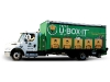 U-Box-It bins are delivered and picked up at customers' homes at their convenience.