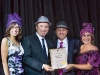 Christine Burych, CAMH Foundation, Vaughan mayor Maurizio Bevilacqua, Hats On founders Benny Caringi and Enza Checchia