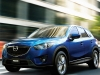 The CX-5's lean body and chiselled features are a sharp contrast to the wide grins and stout figures of its bigger brothers, the CX-7 and CX-9.