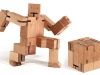 BLOCK'EM SOCK'EM - Inspired by Japanese Shinto Kumi-Ki puzzles, the Cubebot gives kids the perfect blend of thought and play. www.sharperimage.com