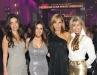 Ready to dance and mingle: Ruth Herman, Alexandra Azouri, Dimitra Davidson and Cathy Grundleger.