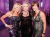 Stacey Cynamon, Nancy Pencer, and Holly Pencer-Bellman look glamorous for the special event.