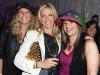 Suzanne Lunau, Ellen Halpern and Naomi Shapiro glow with disco fever.