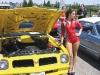 Car models showcase each masterpiece.