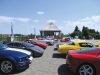 Eagles Nest Golf Course shines with a lot full of luxury automobiles for guests to admire.
