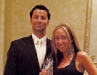 Pure Motivation Fitness owners Dimitri and Francesca Giankoulas celebrate their well-deserved award.