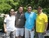 Long-time supporters Dave Zingone, Aurelio Calabretta, Sergio Sosa, and Valerio Zingone of Altima Kitchens.