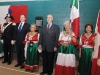 Mayor Bevilacqua, Iolanda Masci, the Hon. Julian Fantino and Nadio Ferrari stand proud.
