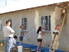 Volunteer paint church