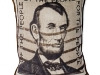 Lincoln Stamp Pillow