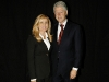 Vivian Risi with former U.S. President Bill Clinton at his speaking engagement in Toronto.