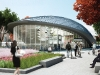 A subway network and social areas encourage a pedestrian lifestyle at the forthcoming Vaughan Metropolitan Centre.