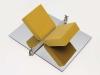 432101234, 1969, chromed steel, aluminum, polyurethane foam, 27.6 x 59.2 x 68.0 cm. AGO, gift of Michael Snow, Toronto, 2001 © Michael Snow 2012