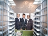 The three pillars of Guizzetti Corporation's Grand Palace Condominiums: Partner and director Albert Gasparro, president Stefano Guizzetti and vice-president Jack Scivoletto
