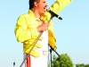 Freddie Mercury brought to life at Chancellor District Park.
