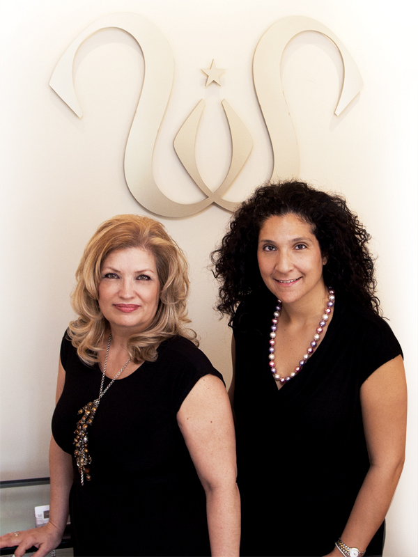 e3ce52d30ae5 Studio Sposa founders Mary D Aversa and Mariangela Muia vow themselves to  couture gowns and