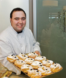 Owner/pastry chef Anthony Macri 