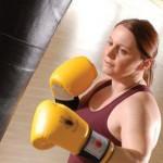 Ksenija Dias, owner and trainer of KJD Boxing & Fitness.