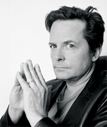Actor Michael J Fox