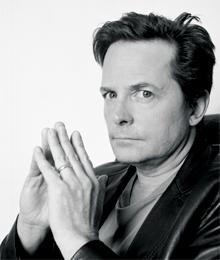 Actor Michael J Fox