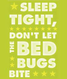 Bedbug sign