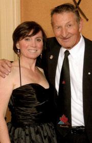 Anna Donato and Walter Gretzky