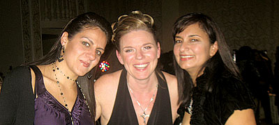 Lora Boem, Corporate Director with friends
