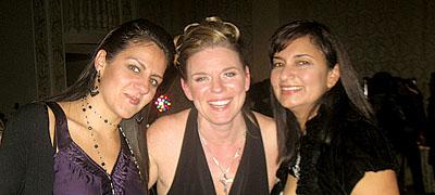 Lora Boem, Corporate Director with friends