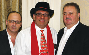 Mario DeCicco, Joe Genova, Tony DeCicco
