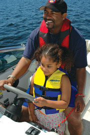 Discover Boating family