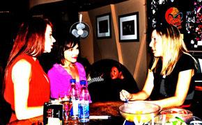Michelle Chalmers, Taisa Ballard, Melissa Teodoro